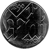 10 Mark Gedenkmünze 100 Jahre 1. Mai, DDR 1990 A (Jäger: 1637) Stempelglanz, Kupfernickelzink