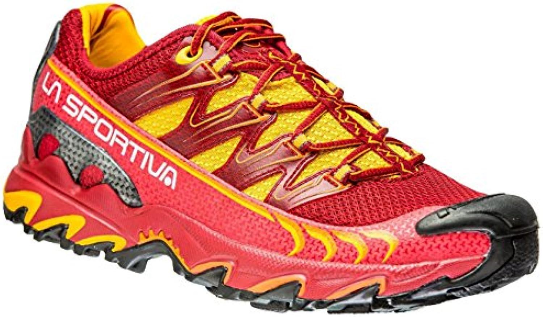 La Sportiva Ultra Raptor Berry - Zapatillas de running, color rojo/amarillo, talla 37
