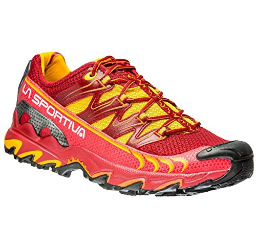 La Sportiva Ultra Raptor Berry - Zapatillas de running, color rojo / amarillo, talla 39.5