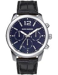 Mark Maddox HC6005-35 - Reloj de cuarzo para hombre, correa de poliuretano color negro