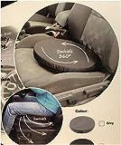 Goldstar - Cuscino rotante per sedile auto, colore: grigio