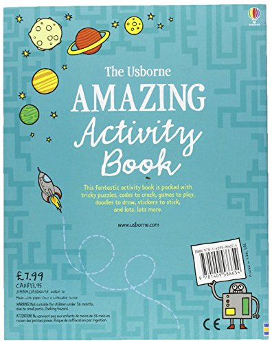 The Usborne Amazing Activity Book (Usborne Activity Books)