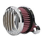 Filtro Aria, OSAN Aria Cleaner Filtro Aspirazione Alluminio Sistema Kit Per Harley sportster XL883 XL1200 1988-2015