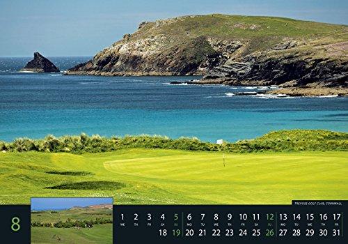 Golf 2018 - Sportkalender / Golfkalender international (49 x 34) - 10