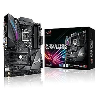 ASUS ROG Strix Z370-F Gaming Mainboard Sockel 1151 (ATX, Intel Z370, Coffeelake, 4x DDR4-Speicher, USB 3.1, M.2 Schnittstelle)