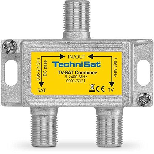 TechniSat TV-Sat Combiner 5.2400 MHz mit F-Anschlüssen Video-signal Combiner