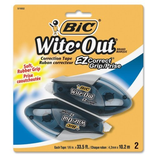 wite-out-ez-correct-grip-correction-tape-nonrefill-1-6-402-2-pk-by-bic