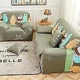 Funda de sofá elástica antideslizante Protector para sofás,Fácil caber Toalla de cojín de so...