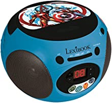 Avengers - Radio CD, color azul (Lexibook RCD102AV)
