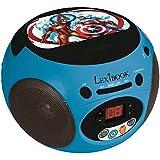 Avengers - Radio CD, color azul (Lexibook RCD102AV)