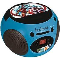Vengadores - Lector Radio CD portatil 100% Marvel (Lexibook RCD102AV)