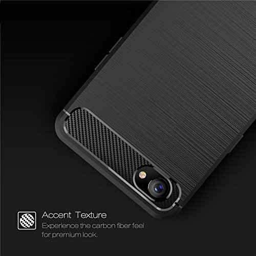 best sneakers ab870 7bcca Spazy Case [Premium Quality] Brushed Armor Shock Proof Soft TPU Back Cover  Case for Realme 1\Oppo realme 1(2018 Edition)-Rugged Black Buy Spazy Case  ...