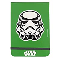 Lucasfilm Ltd. Star Wars Policemans Style Flip Notebook - 200 Pages, Plain Paper - Size 150mm x 105mm