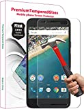 PThink� Premium Tempered Glass Screen Protector for Google Nexus 5X with 9H Hardness/Anti-scratch/Fingerprint resistant (Google Nexus 5X)