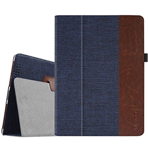 Fintie iPad 2/3 / 4 Hülle Case - Folio Slim Fit Stoff Schutzhülle Cover Tasche Etui mit Auto Schlaf/Wach Funktion für Apple iPad 2 / iPad 3 / iPad 4, Denim Indigoblau