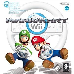 Mario Kart Wii (inkl. Wii Wheel – Lenkrad)