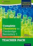 Complete Chemistry for Cambridge Secondary 1 Teacher Pack: For Cambridge Checkpoint and beyond by Philippa Gardom Hulme