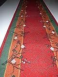 Shiraz Läufer Rot - Bordüre B/80 cm Meterware Teppich Küchenläufer Läufer nach Maß lfm. 13,90 Euro 80 cm x 120 cm