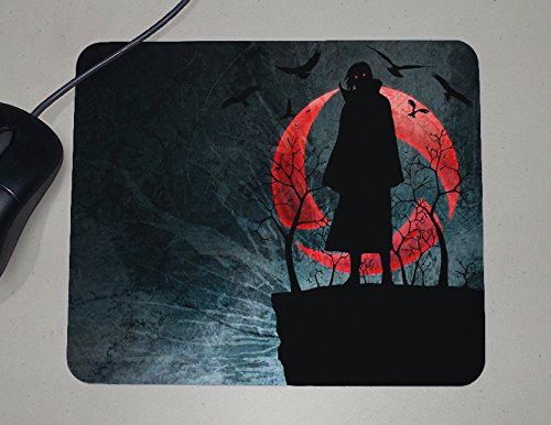 Preisvergleich Produktbild Naruto - Itachi Uchiha - Sharingan - Akatsuki - Japanese Anime - Novelty Gift - Custom Name Mouse Pad