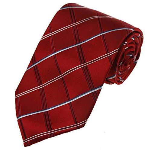 Y&G Herren Krawatte Rosa UK-CID-016-14