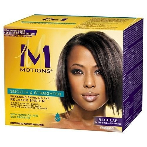 Motions Smooth and Straighten Silkening Shine No-Lye Relaxer System by Motions -