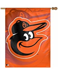 MLB Baltimore Orioles Vertical Flag, 27 x 37-Inch by WinCraft