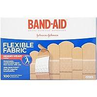 Band-Aid Pflasterverbände, Stoff mit 100- - preisvergleich