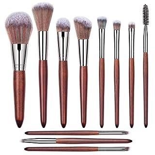 Askito Make up Pinsel Set 11 Stück für Blush Foundation Powder Concealers Lidschatten Make-up Kit