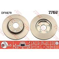 TRW DF6679 Rotores de Discos de Frenos