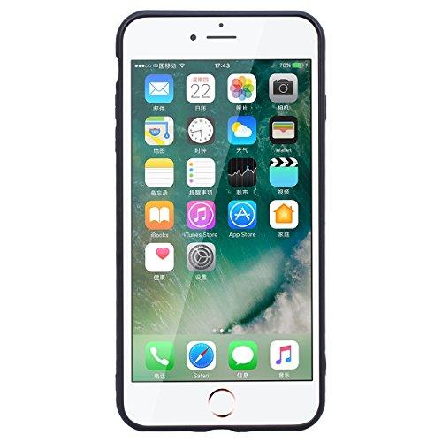 Yokata iPhone 7 Hülle Weiche Silikon Handyhülle 3D Motiv Schutzhülle TPU Handy Tasche Schale Etui Weich Silicone Bumper Ultra Dünn Slim Schlank Matt Handytasche Premium Kratzfest Soft Flexible Clear B Anmerkungen