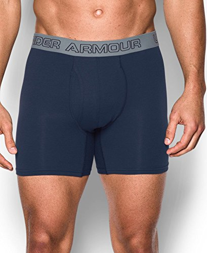 Under Armour Herren Unterhose Cotton Stretch 6'' 3 Pack blau (brilliant blue)