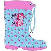 My Little Pony Girls Wellington Boots Rubber Wellies(30 - UK 11) Blue
