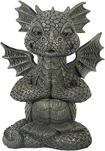 Figure de jardin Dragon Yoga méditation décoration