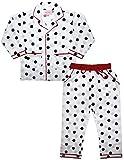 #8: ShopMozo - Printed Pure Cotton Unisex Night Suit Boys and Girls(Night Wear/Night Dress/Pyjama Tops/Sleep Wear Combo Set_SM-00222)