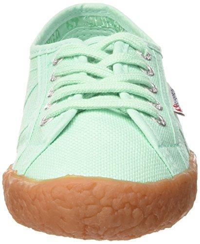 Superga Unisex-Kinder 2750 Naked Cotj Sneaker grün (Verde (Pastel Green))