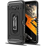 Samsung Galaxy S8 Plus Case, Codream Stylish Thin Cellphone Case Shockproof Grip Protective Cover Case With Corner Protection Design For Samsung Galaxy S8 Plus (Black)