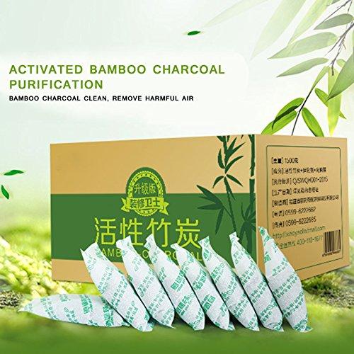 100% Le Paquet de Charbon de Bois de Bambou activé par Leaftree Absorbent Le formaldéhyde de goût pour la décoration à la Maison de Voiture