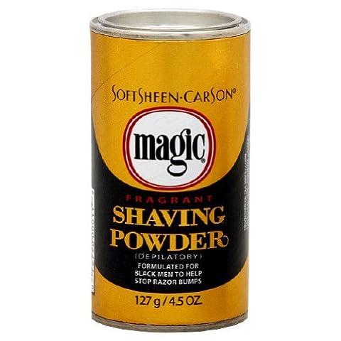 Magic Shaving Powder - Fragrant - 4.5 OZ (127 g) - Pack of 3 by Magic