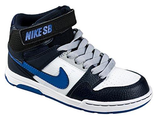 Nike SB Kinderschuhe MOGAN MID 2 JUNIOR B white game royal obsidian white game royal obsidian