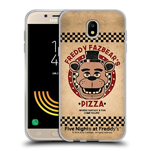 Official Five Nights At Freddy's Freddy Freddy Fazbear's Pizza Soft Gel Case for Samsung Galaxy J5 (2017)