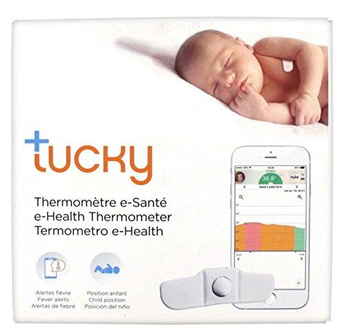 TUCKY termometro parche conectado - Dispositivo Médico - Monitoreo continuo y remoto de la temperatura