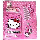 Hello Kitty Grooming Set - Hello Kitty Nail Clipper, Hello Kitty Comb, Hello Kitty Mirror -Gift For Girls Hello Kitty Travel Kit For Girls Birthday Gift For Girls