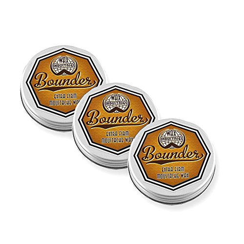 Bounder Extra Firm Moustache Wax Triple Pack (3 x 10ml)