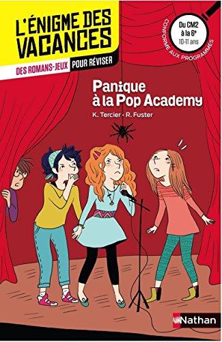 Panique à la Pop Academy - Cahier de vacances