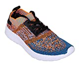Blend Runners Herren Low-Sneaker Blau Orange