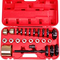 25pezzi kit per installazione rimozione cuscinetto ruota anteriore Drive 60–85mm