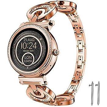 LvBu Metal Acier Classique Bracelet De Remplacement pour Michael ...