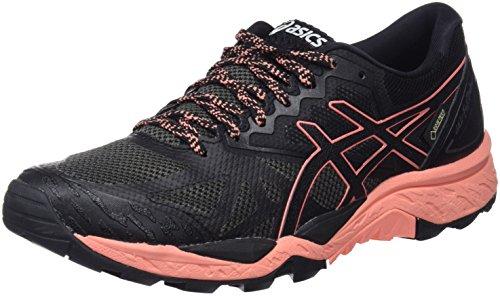 ASICS Damen Gel-Fujitrabuco 6 G-TX Traillaufschuhe, Schwarz Begonia Pink/Black 9006, 41.5 EU
