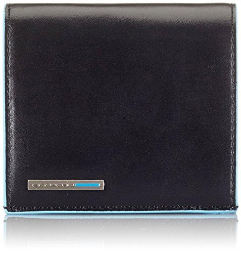 dd678eeafe Piquadro PU1741B2 Portafoglio, Collezione Blu Square, Nero