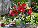 Blumenzauber 2020, Wandkalender im Querformat (45x33 cm) - Blumenkalender mit Monatskalendarium - Friedrich Strauß